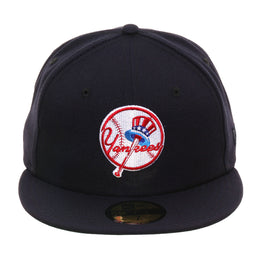 Exclusive New Era 59Fifty New York Yankees 1947 Logo Hat - Navy