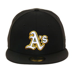 Exclusive New Era 59Fifty Oakland Athletics 2008 Alternate Hat - Black