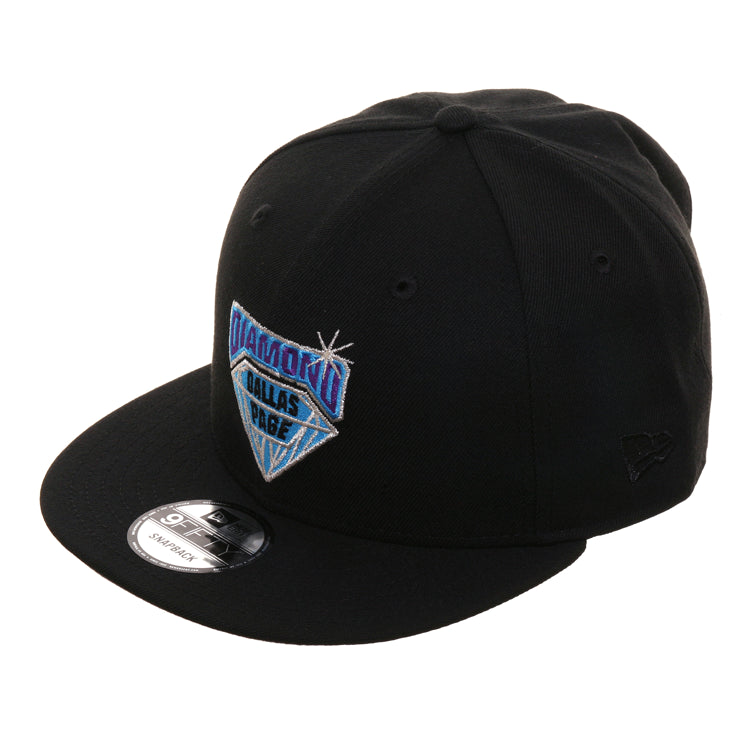 WWE New Era 9Fifty Diamond Dallas Page Snapback Hat - Black