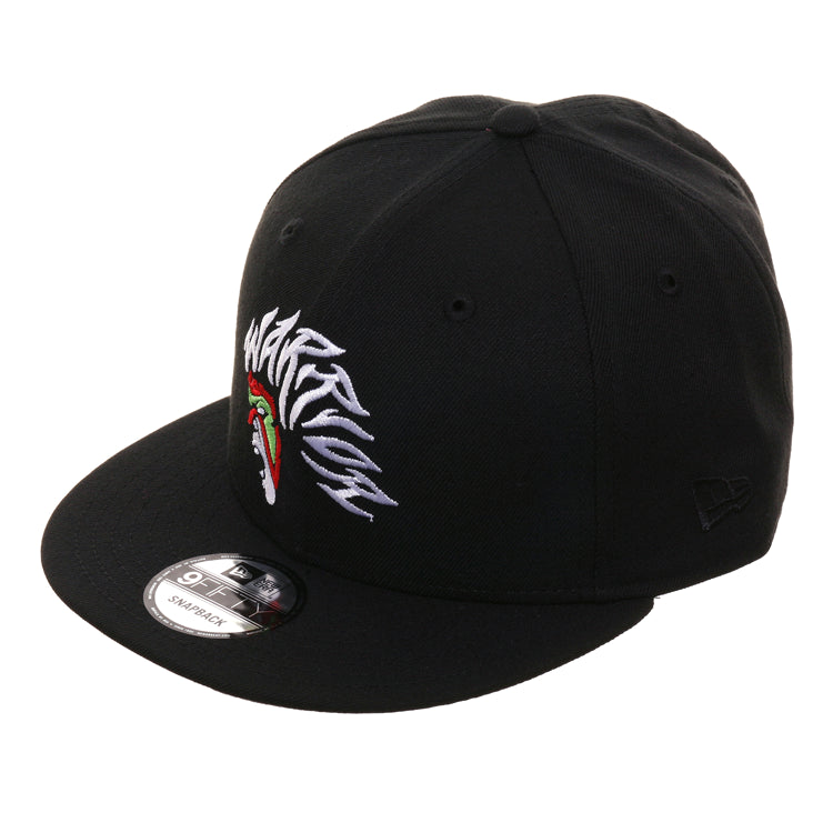 WWE New Era 9Fifty Ultimate Warriors Snapback Hat - Black