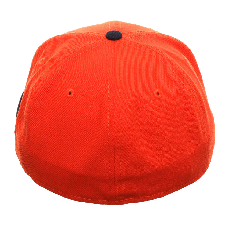 Exclusive New Era 59Fifty Houston Astros Prototype Hat - 2T Orange, Navy