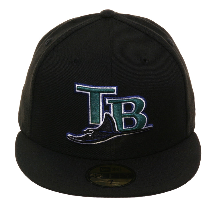 Exclusive New Era 59fifty 2005 Devil Rays Hat - Black
