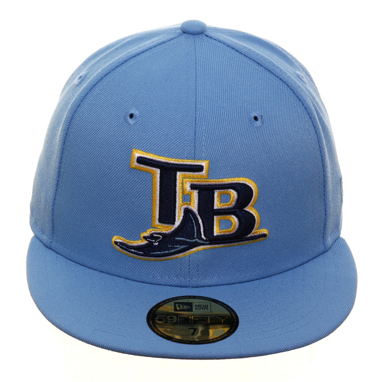Exclusive New Era 59Fifty Tampa Bay Devil Rays 2005 Hat - Light Blue