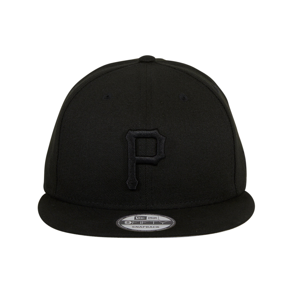 New Era 9Fifty MLB Basic Pittsburgh Pirates Snapback Hat - Black