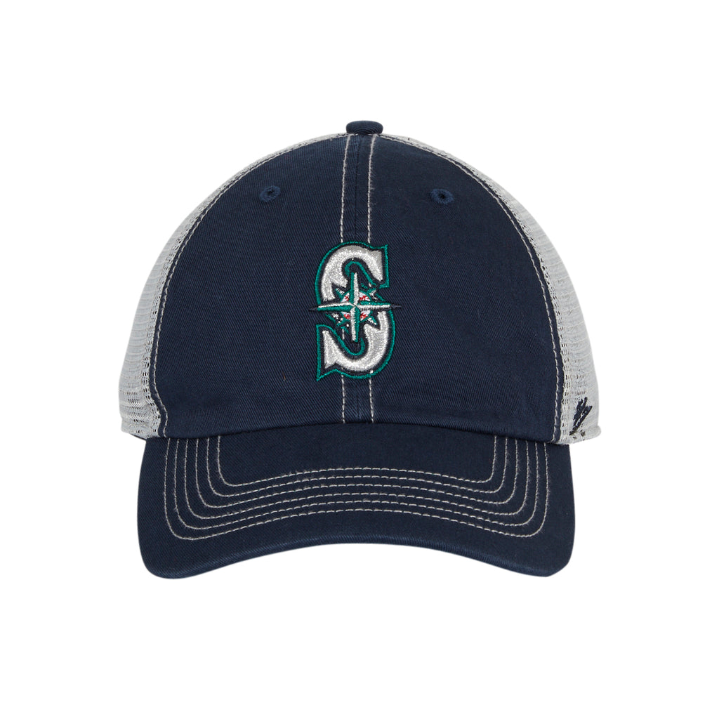47 Brand Seattle Mariners Trawler Adjustable Hat - Navy
