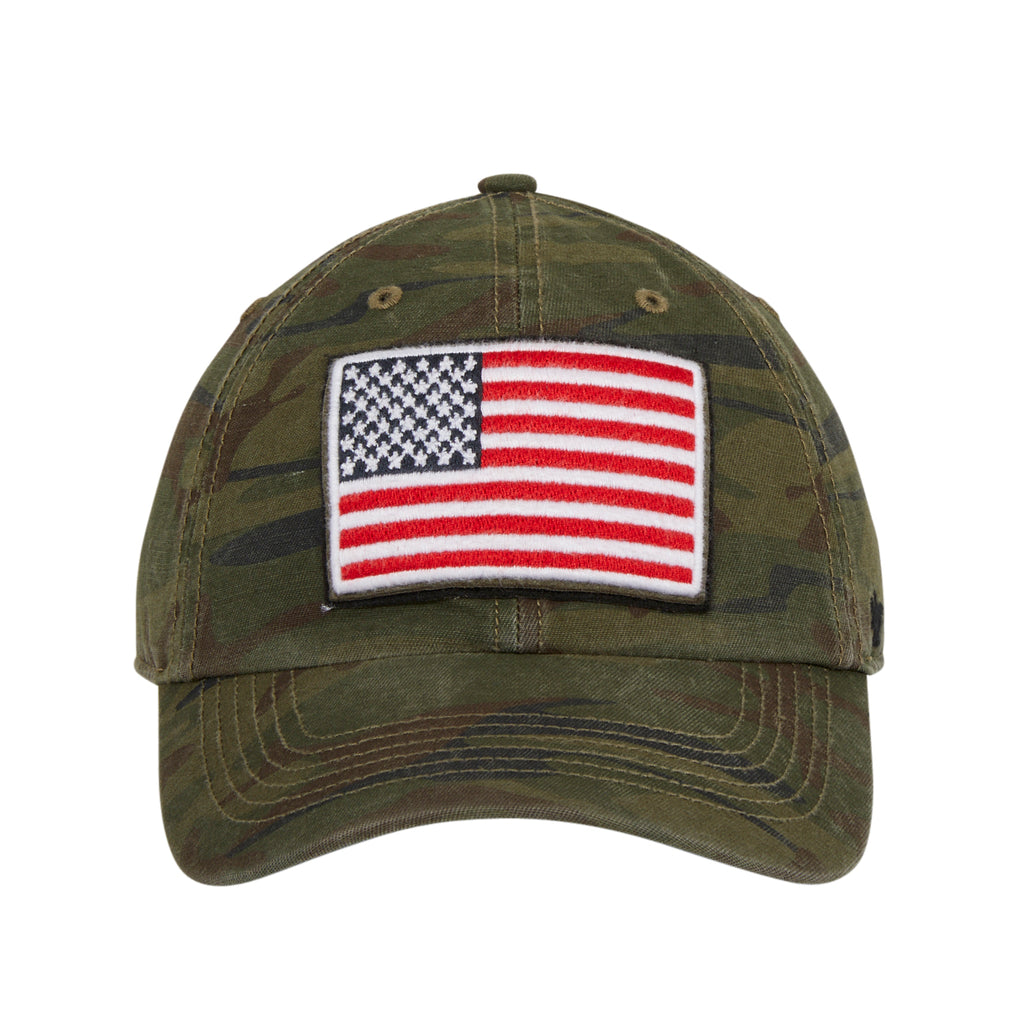 47 Brand Cleanup USA Flag OHT Adjustable Hat - Camouflage