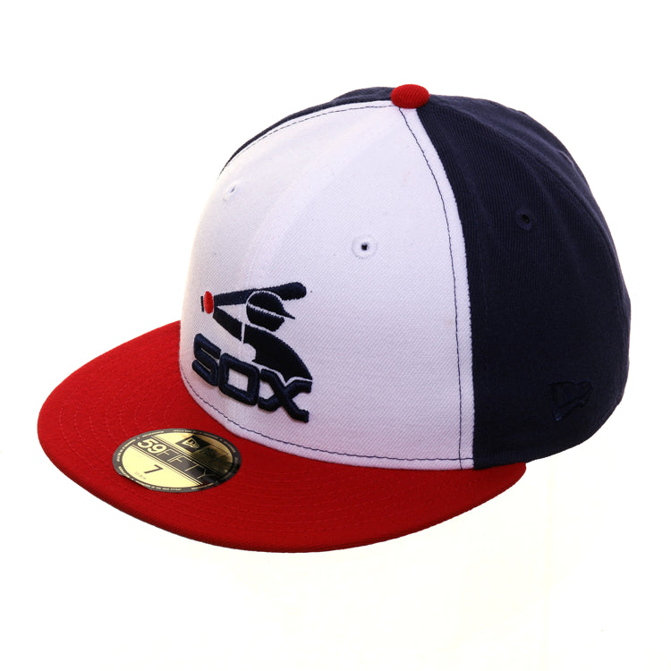 Exclusive New Era 59Fifty Chicago White Sox All Star Game 1983 Hat - White, Light Navy, Red