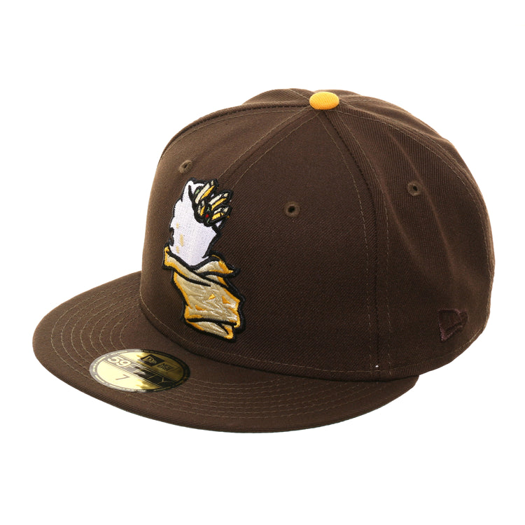 Exclusive New Era 59Fifty California Burritos Hat - Brown