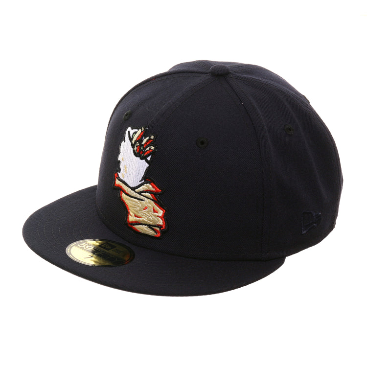 Exclusive New Era 59Fifty California Burritos Hat - Navy