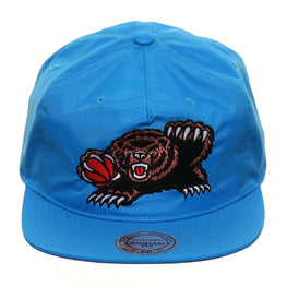 Mitchell & Ness Memphis Grizzlies Nylon Pop Snapback - Neon Blue