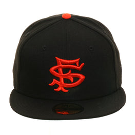 Exclusive New Era 59Fifty San Francisco Seals Hat - Black, Orange