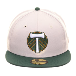 New Era 59Fifty Portland Timbers Hat - 2T Stone, Green