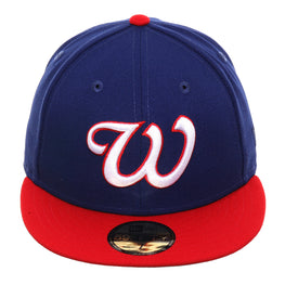 Exclusive New Era 59Fifty Wichita Pilots Hat - 2T Royal, Red