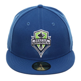 New Era 59Fifty Seattle Sounders Hat - Indigo