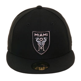 New Era 59Fifty Inter Miami CF Hat - Black