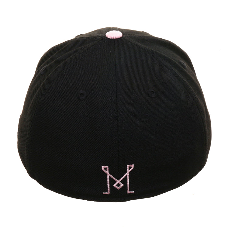 New Era 59Fifty Inter Miami Football Club Hat - 2T Black, Pink