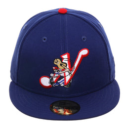 Exclusive New Era 59Fifty Nashville Sounds 1985 Hat - Royal