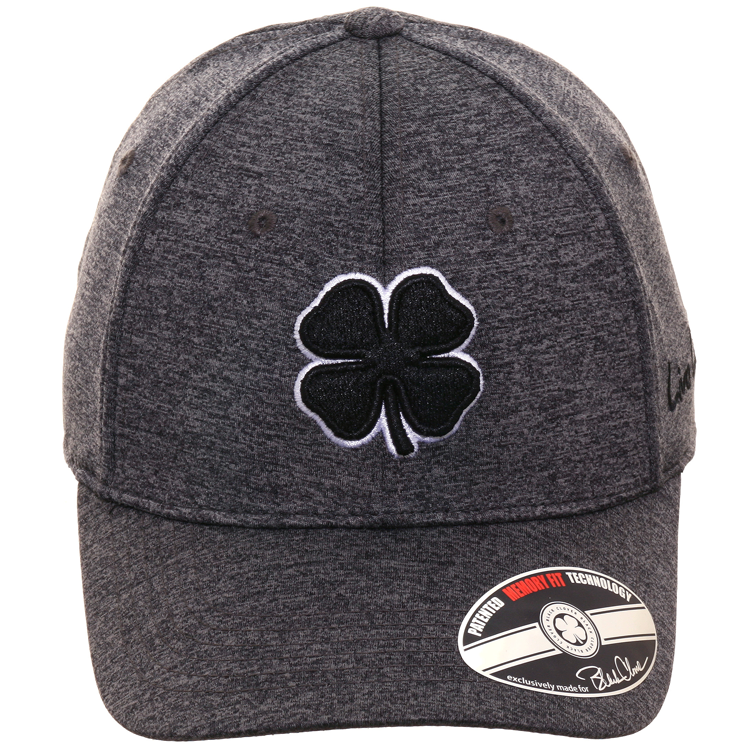 Black Clover Lucky Flexfit Hat - Heather Charcoal
