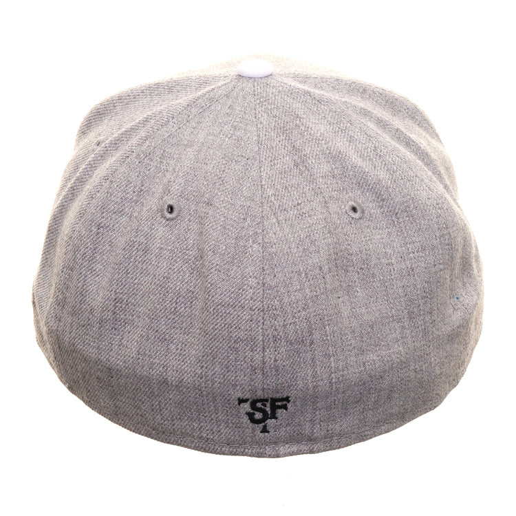 Exclusive New Era 59Fifty Thrill SF Jailbird TBTC Hat - 2T Heather Gray, Navy