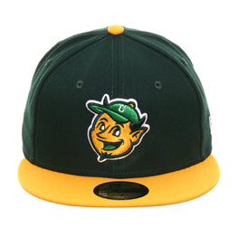 Exclusive Chamuco's Studio New Era 59Fifty Chamuco Mascot Hat - 2T Green, Gold