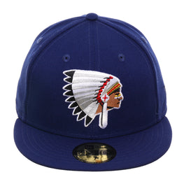 Exclusive New Era 59Fifty Spokane Indians 1970 Hat - Royal