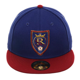 New Era 59Fifty Real Salt Lake Hat - 2T Royal, Cardinal
