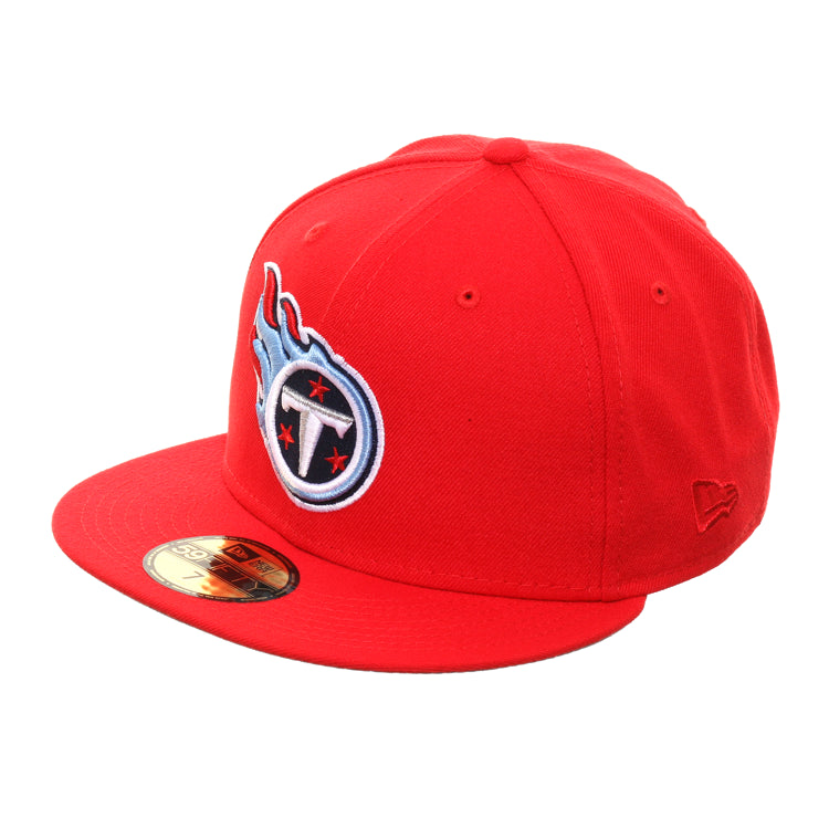 New Era 59Fifty Tennessee Titans Hat - Red