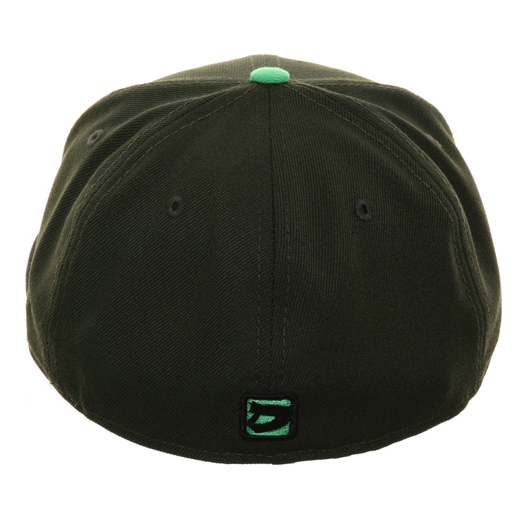 Exclusive Dionic New Era 59Fifty Zombie Octoslugger Hat - 2T Olive, Heather Black