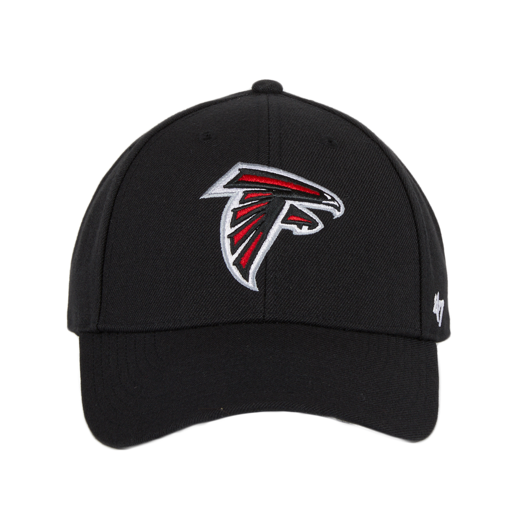 47 Brand Atlanta Falcons MVP Adjustable Velcro Hat - Black