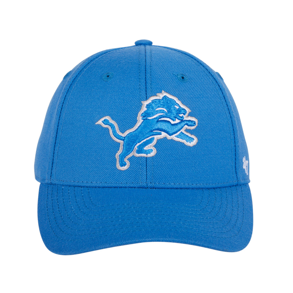 47 Brand Detroit Lions MVP Adjustable Velcro Hat - Light Blue