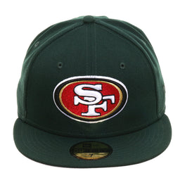 Exclusive New Era 59Fifty San Francisco 49ers Hat - Green