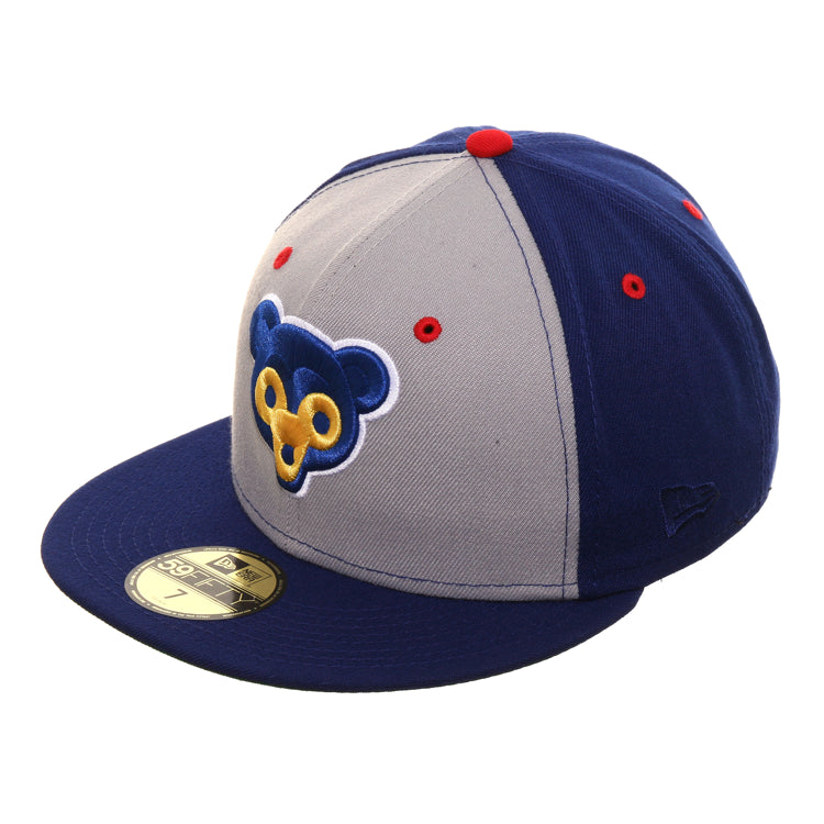 Exclusive New Era 59Fifty Chicago Cubs 1962 Rail  Hat - 2T Gray, Royal