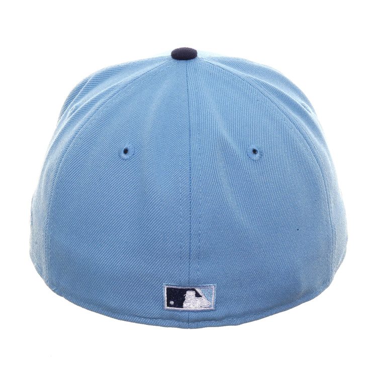Exclusive New Era 59Fifty Montreal Expos Gradient Hat - 2T Light Blue, Light Navy