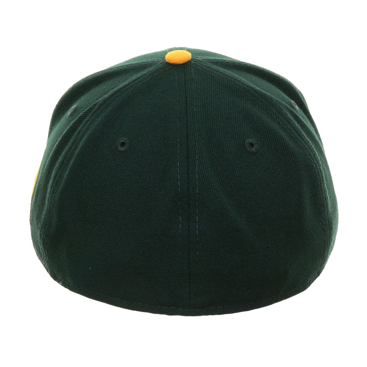 Exclusive New Era 59Fifty Oakland Athletics Battle Of The Bay 1989 Logo Hat - 2T Green, Gold