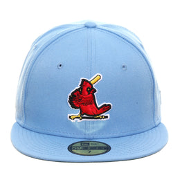 Exclusive New Era 59Fifty St. Louis Cardinals 1967 Hat - Light Blue