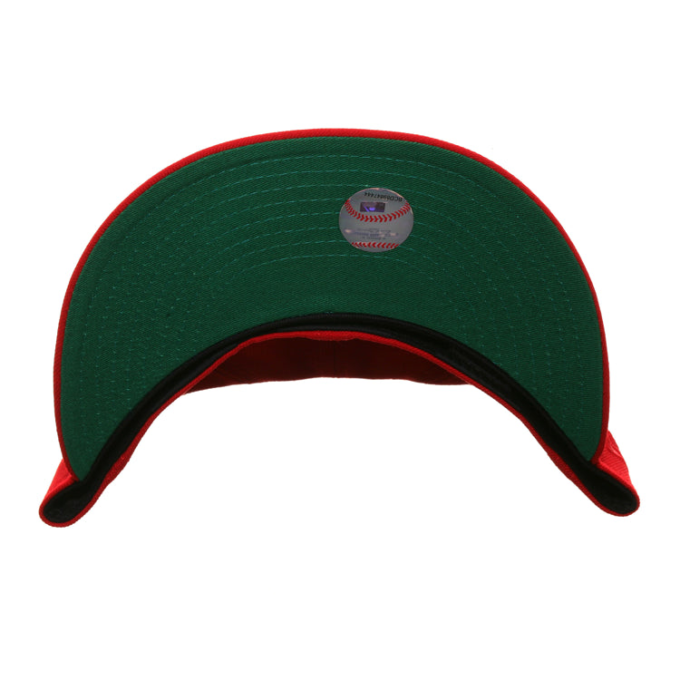 Exclusive New Era 59Fifty Cincinnati Reds Mr Red Alternate Hat - Red