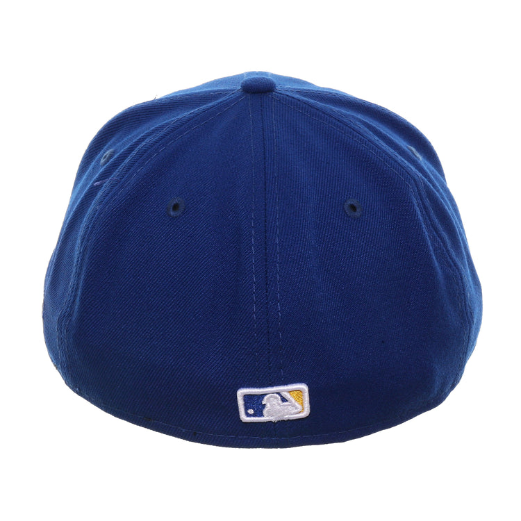 Exclusive New Era 59Fifty Milwaukee Brewers State Logo Hat - Royal, Gold