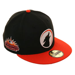 Arizona Fall League New Era 59Fifty Glendale Desert Dogs Home Hat - 2T Black, Orange
