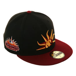 Arizona Fall League New Era 59Fifty Mesa Solar Sox Home Hat - 2T Black, Cardinal