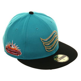 Arizona Fall League New Era 59Fifty Salt River Rafters Hat - 2T Teal, Black