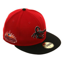 Arizona Fall League New Era 59Fifty Scottsdale Scorpions  Hat - 2T Red, Black