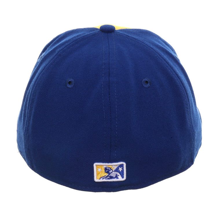 Exclusive New Era 59Fifty Carolina Microbrews Keg Rail Hat - Gold, Royal