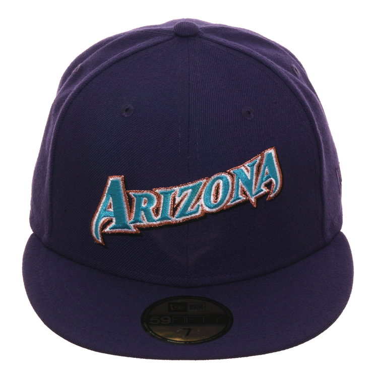Exclusive New Era 59Fifty Arizona Diamondbacks 1998 Jersey Hat- Purple