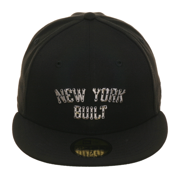 Exclusive New Era 59Fifty New York Built Hat - Black