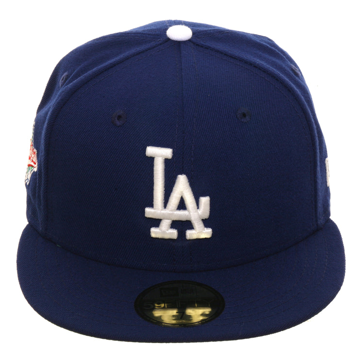 Exclusive New Era 59Fifty Los Angeles Dodgers 1988 World Series Glow In Dark Hat - Royal