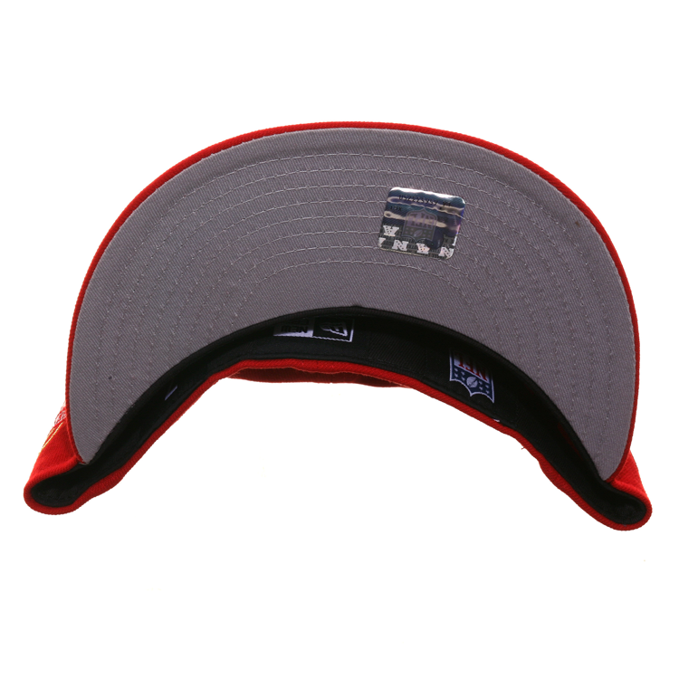 Exclusive New Era 59Fifty San Francisco 49ers Candlestick Patch Hat - Red