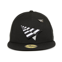 New Era 59Fifty Paper Planes Original Crown Hat - Black