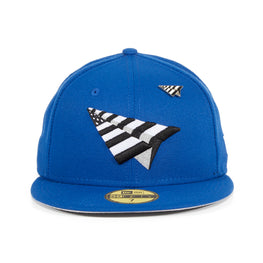New Era 59Fifty Paper Planes Original Crown Hat - Royal