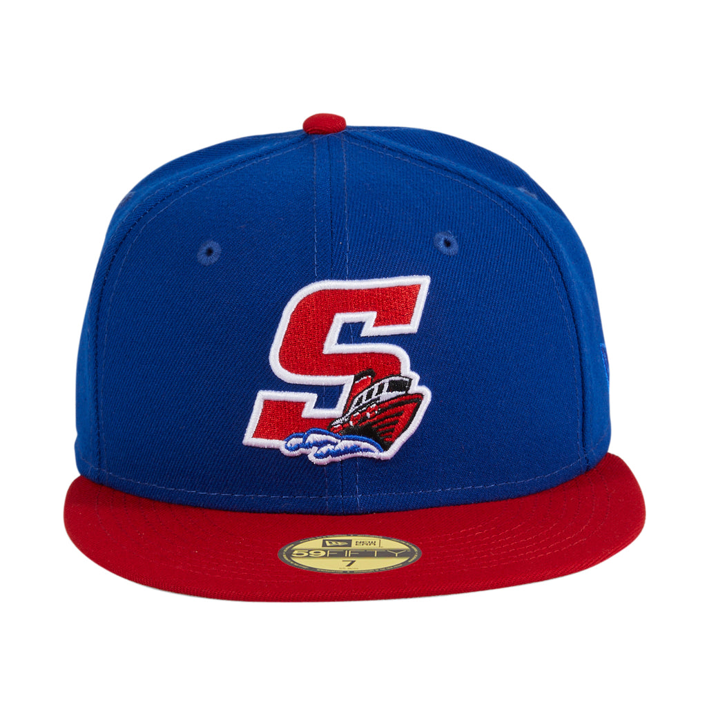 Exclusive New Era 59Fifty Stockton Ports Alternate Hat -  Royal, Red