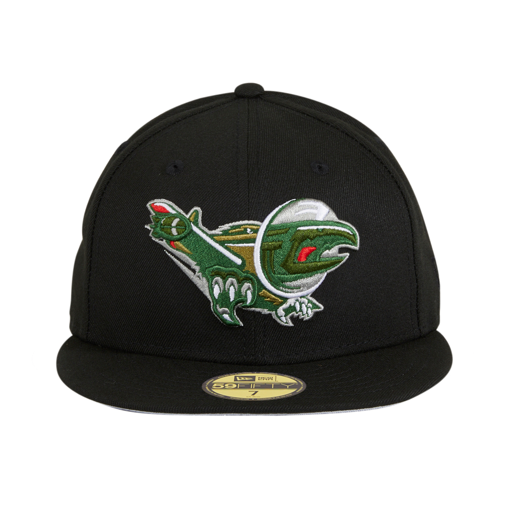 Exclusive New Era 59Fifty Albany Warbirds Hat - Black